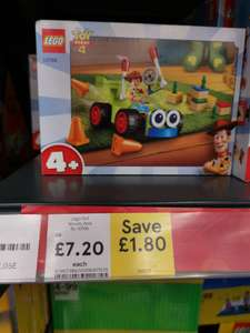Lego Woody RC car toy story set 10766 £7.20 at Tesco Kingston Park, Newcastle.