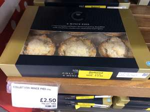 M&S Collection Mince Pies 62p at Marks & Spencer in Bromley
