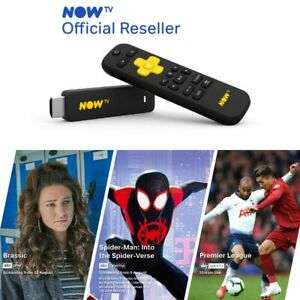 NOW TV Smart Stick with 3 PASSES (PRE-Loaded)1 Month Entertainment, 1 Month Cinema, 1 Day Sky Sports for £13.99 @ Boss_Deals /Ebay