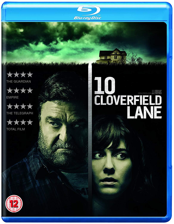 10 Cloverfield Lane [2016] [Region Free] Blu-Ray £2.49 Prime / £5.48 Non Prime at Amazon