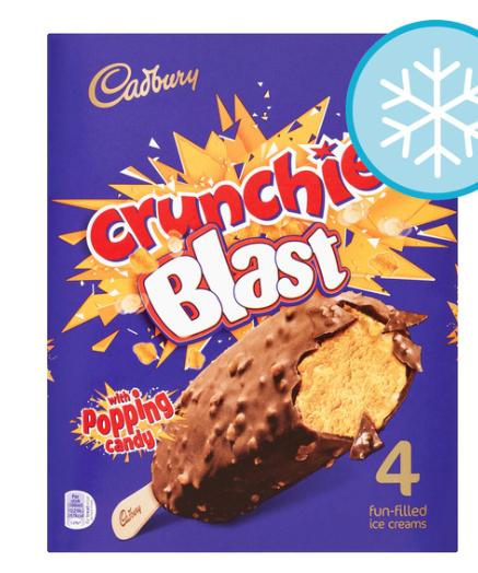 Tesco Cadbury Crunchie Blast 2 for £4 @ Tesco