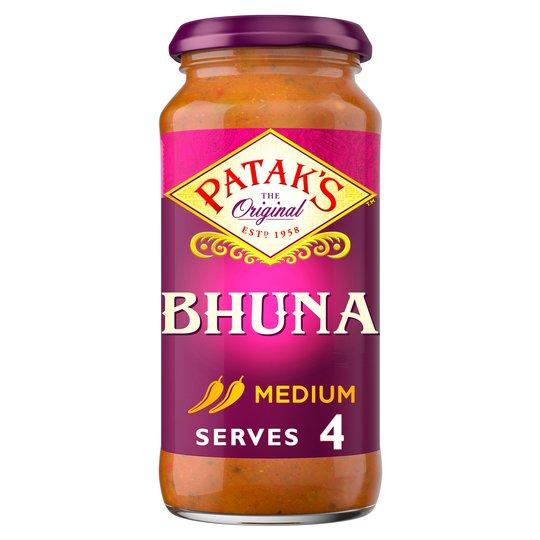 Pataks Bhuna Cooking Sauce 450G 94p @ Tesco