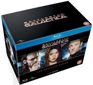 Battlestar Galactica TV Series Blu-ray boxset (Syfy channel reboot) £24.98 @ Amazon