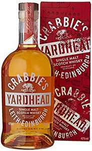 Crabbie's Yardhead Single Malt Scotch Whisky 70cl £15 @ Amazon - Cyber Monday deal