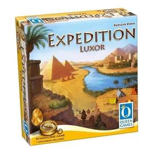 Luxor expedition edition at chaos cards is £11.46 delivered with voucher @ Chaos cards