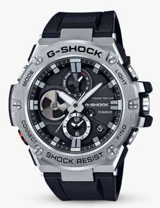 Casio GST-B100-1AER Men's G-Shock Chronograph Day Date Resin Strap Watch, Black £149.50 @ John lewis