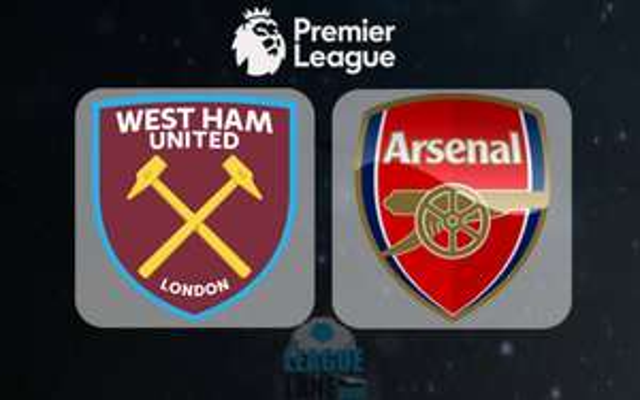 West Ham vs Arsenal £30 Band 5 Band 4 Band 3 @ Ticketmaster