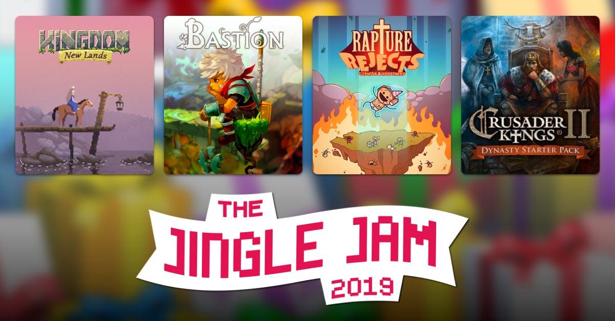 Yogscast Jingle Jam 2019 £23.28 - Humble bundle