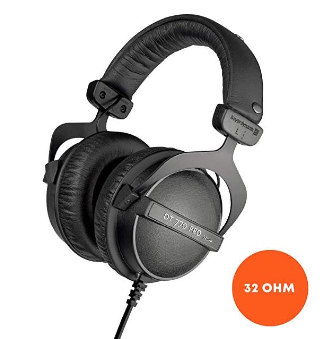 """Beyerdynamic DT 770 pro headphones - 32 ohm """"used - like new"""" £71.68 @ Amazon warehouse"""