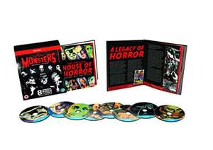 Universal monster collection the essential boxset blu ray 8 movie collection @ Amazon prime £11.19 (£14.18 non prime)
