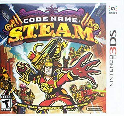 Code Name: S.T.E.A.M nintendo 3ds game £2.35 prime / £5.34 non prime @ Amazon