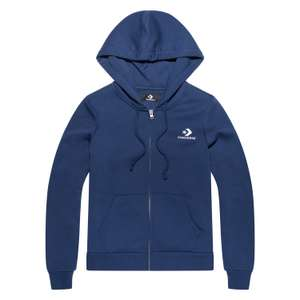 Womens Star Chevron Embroidered Full Zip Converse Hoodie £19.49 delivered using code @ Converse