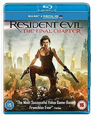 Resident evil final chapter blu ray £2.56 @Amazon prime (£5.55 non prime)