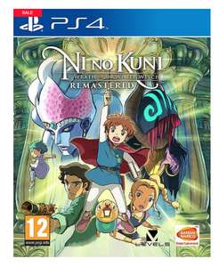 Ni no kuni wrath of the white witch remastered ps4 £33.98 delivered @ Marisota