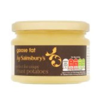 Sainsbury's British Goose/Duck Fat 200g for £1.80
