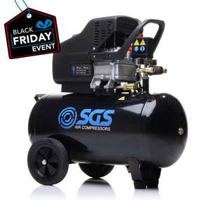 SGS 50 Litre Air Compressor at SGS Engineering UK for £101.99