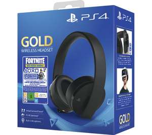 SONY Gold Wireless 7.1 Gaming Headset & Fortnite Neo Versa Bundle & 6 Months Spotify Premium - £44.99 Delivered @ Currys