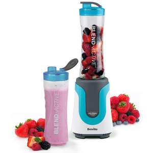 Breville Blend Active Personal Blender & Smoothie Maker with 2 Portable Blending Bottles (600ml), £14.99 at Amazon (+£4.49 non prime)