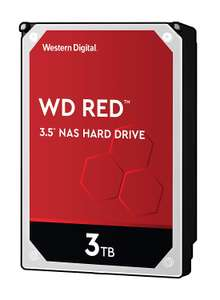 WD 3 TB NAS Hard Drive retail boxed - red £64.99 @ Amazon