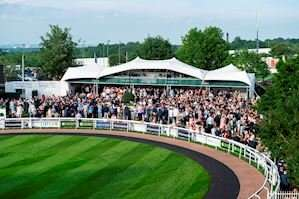 Grandstand Enclosure on Investec Ladies' Day, Derby Festival Friday 5 June - Two tickets for £60 / Four tickets for £100 with code