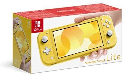 Nintendo Switch Lite - Yellow £179 @ Amazon