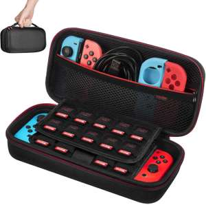 Hard Travel Case for Nintendo Switch in Black £6.39 (+£4.49 Non Prime) Sold by Southern Harbour and Fulfilled by Amazon.