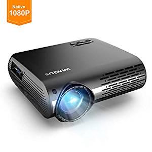Double discounted WiMiUS Projector Native 1080P, 5500 Lumen Video Projector £117.99 @ Amazon
