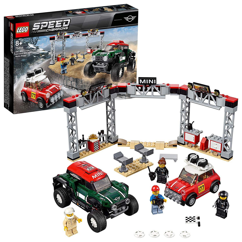 LEGO 75894 Speed Champions 1967 S Rally and 2018 Mini John Cooper - £26.99 @ Amazon