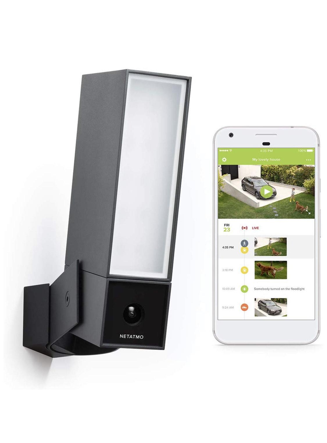 Netatmo Presence outdoor camera and light £169.99 @ Amazon UK