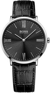 Hugo Boss Men's Analogue Quartz Watch with Leather Strap – 1513369 - £69 Delivered @ Amazon