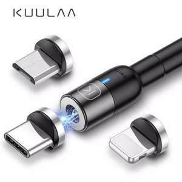 KUULAA Magnetic Micro USB Type C Cable 57p AliExpress kuulaa Official Store