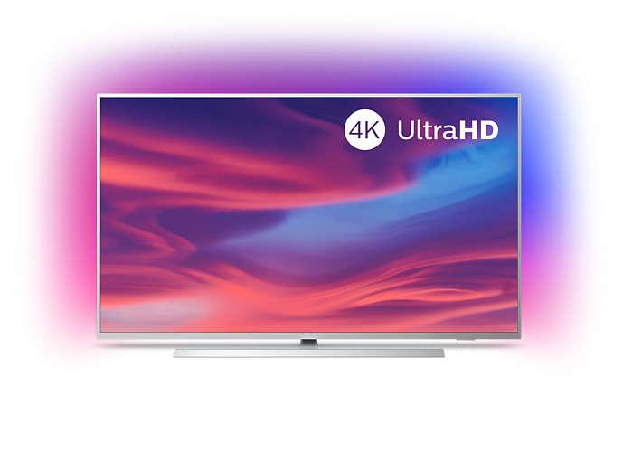 Philips 58PUS7304/12 58 Inch 4K Ultra HD Smart Ambilight TV £479.98 Costco