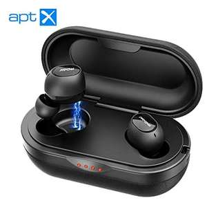 Mpow T5/M5 True Wireless Headphones with Charging Case with Mic £39.99 Sold by SJH EU LTD and Fulfilled by Amazon.