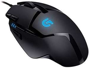 Logitech G402 Hyperion Fury Wired Gaming Mouse, 4,000 DPI, Lightweight, 8 Programmable Buttons - £17.39 (Prime) +£4.49 (non-Prime) @ Amazon