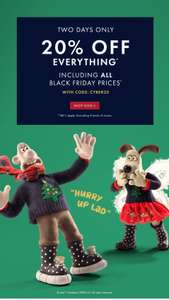 20% off everything @ Joules inc. Black Friday discounts