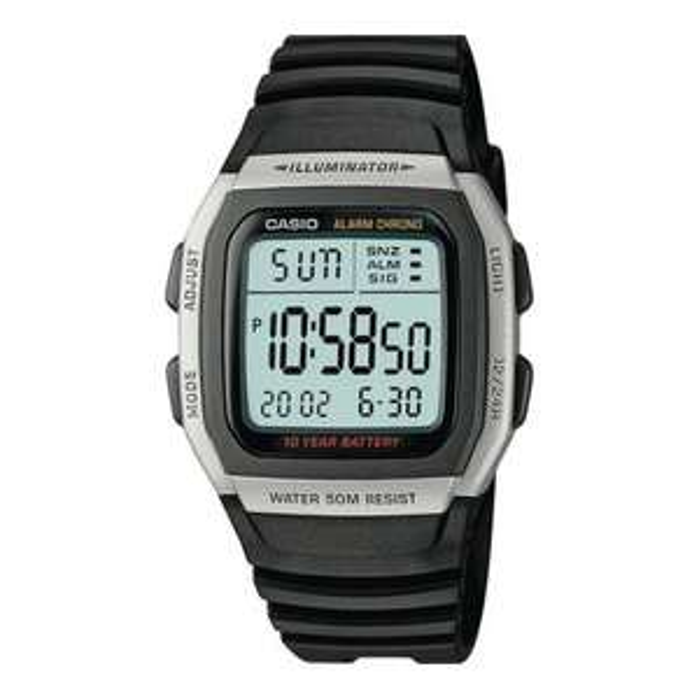 Casio Men's Black Resin Strap Watch £9.99 Argos
