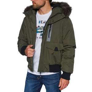 Superdry Everest Bomber Jacket Army Khaki £89.95 @ Surfdome