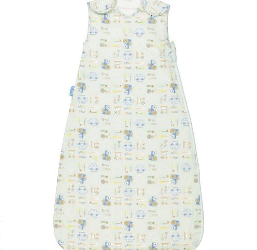 GROBAG Mint Chug Chug Sleeping Bag 1.0 Tog £7.00 +£1.99 click and collect size 6-18 MTHS @ Tk Maxx