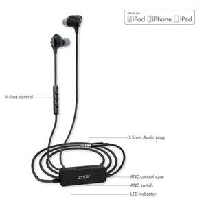 E610 Active Noise Cancelling Earbud - £9.00 (Prime) / £13.49 (non Prime) Sold by BESTEK GLOBAL LTD and Fulfilled by Amazon.