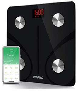 Renpho Smart Bluetooth Scales BMI, BODY FAT £21.59 Sold by RENPHO LIMITED and Fulfilled by Amazon.