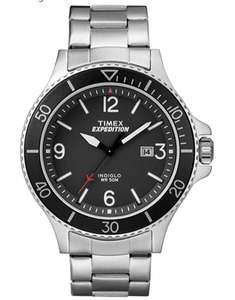 Timex Expedition Ranger Silver/Black with Indiglo - £40.50 @ Amazon