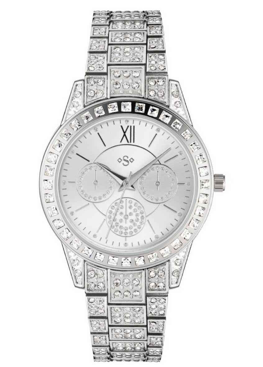 Spirit Lux Ladies' Stone Set Bracelet Multidial Watch £14.99 Argos