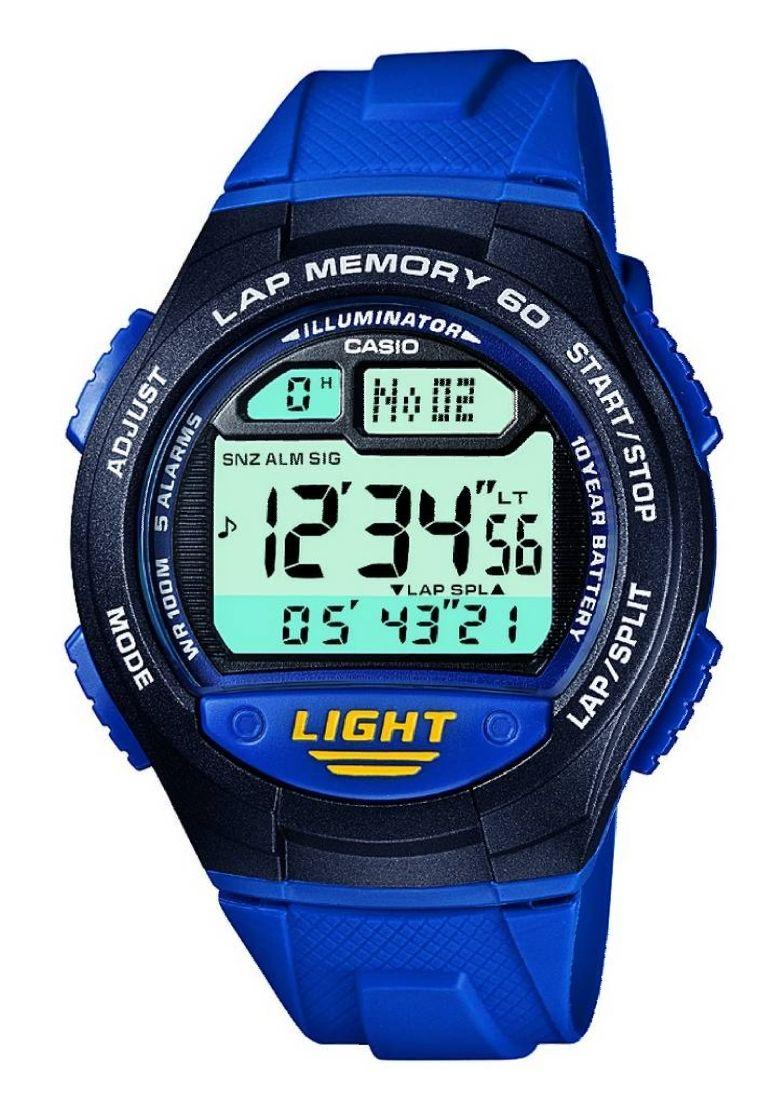 Casio Men's 60 Lap Memory Blue Resin Strap Watch - £14.99 @ Argos