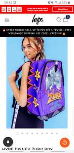 Just Hype X Disney ZURG Backpack, now £12.99 with free shipping at Just Hype