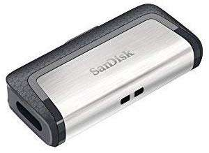 Sandisk Ultra 128GB Dual type-c USB flash drive - £16.29 (Prime) £20.78 (Non Prime) @ Amazon