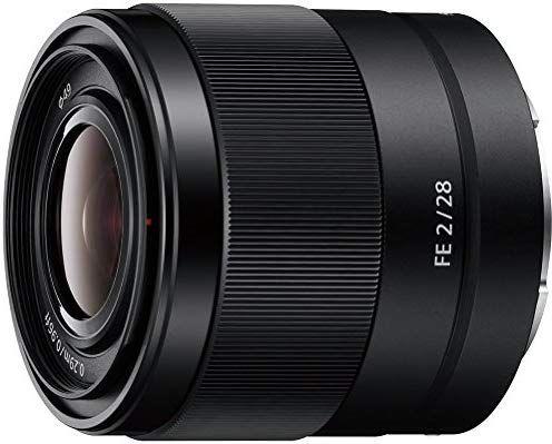 Sony SEL28F20 E Mount Full Frame 28 mm F2.0 Prime Lens - £259 @ Amazon