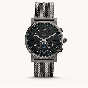 Extra 30% Off Everything in the Outlet Sale + 10% Off with code @ Fossil e.g. Hybrid Smartwatch Barstow Smoke Stainless Steel £63.63