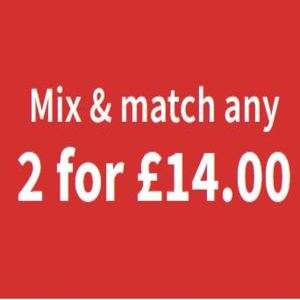 ASDA DVD's Books and CD's Mix and Match 2 for £14