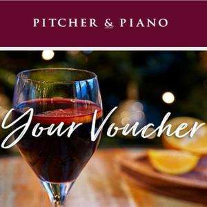 Free mulled wine at pitcher and piano today - email subscribers