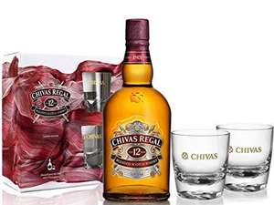 Chivas Regal 12 Y O Blended Scotch Whisky with 2 Chivas Glasses Gift Pack £23..99 @ Amazon
